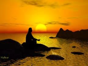 瞑想する5